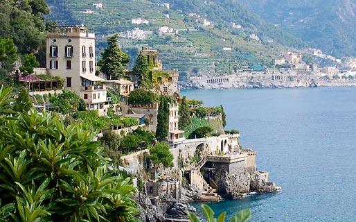 Dimora di mare hotel ravello for Ville lusso italia