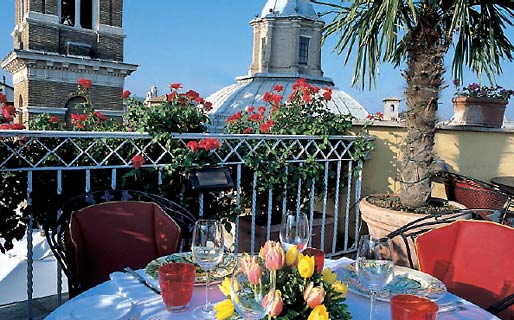 Hotel Raphael Relais & Ch�teaux 5 Star Luxury Hotels Roma