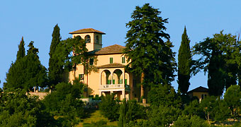Villa Milani Spoleto Todi hotels