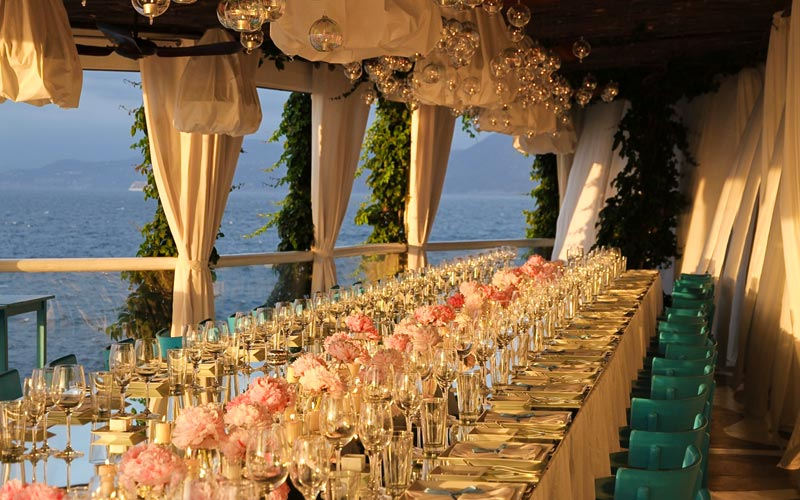 luxury events weddings capri sugokuii