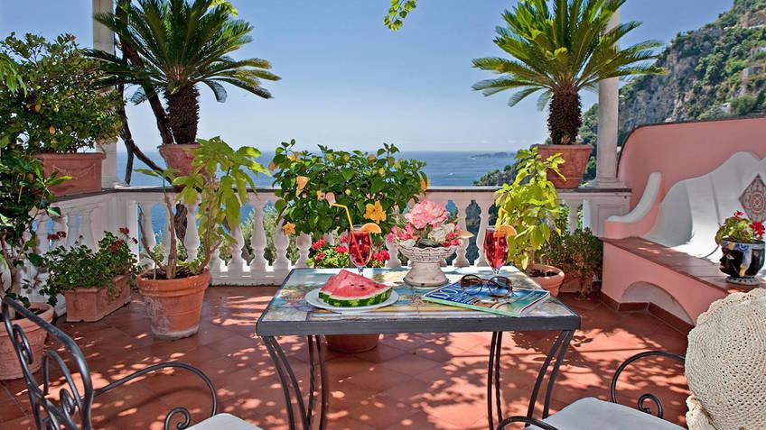 Hotel Villa Gabrisa 4 Star Hotels Positano