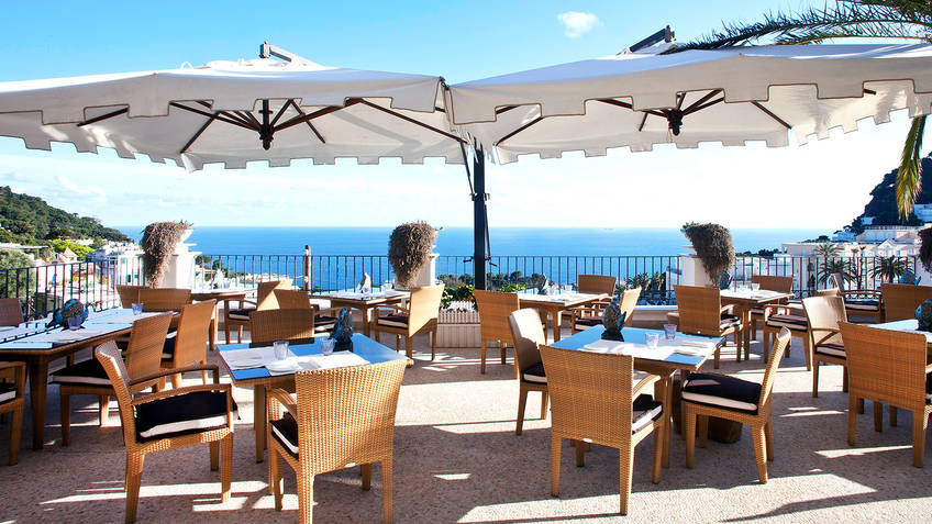 Restaurant Terrazza Tiberio on Capri - Info and Photos