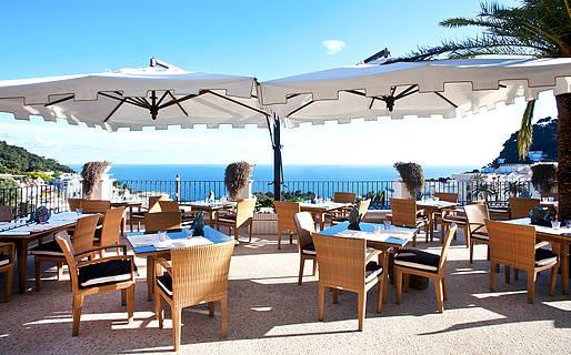 Terrazza Tiberio Ristoranti Capri