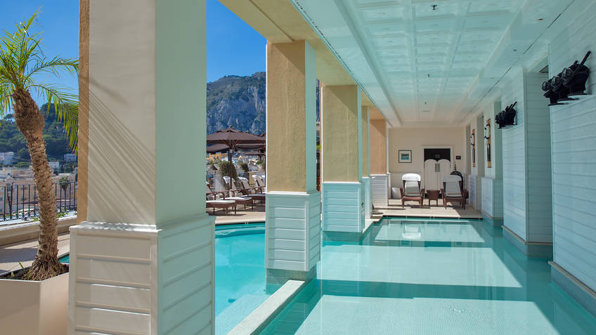 Spa Tiberio Wellbeing Capri