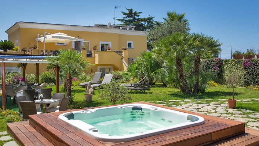 Villa Ceselle Hotel 3 estrelas Anacapri
