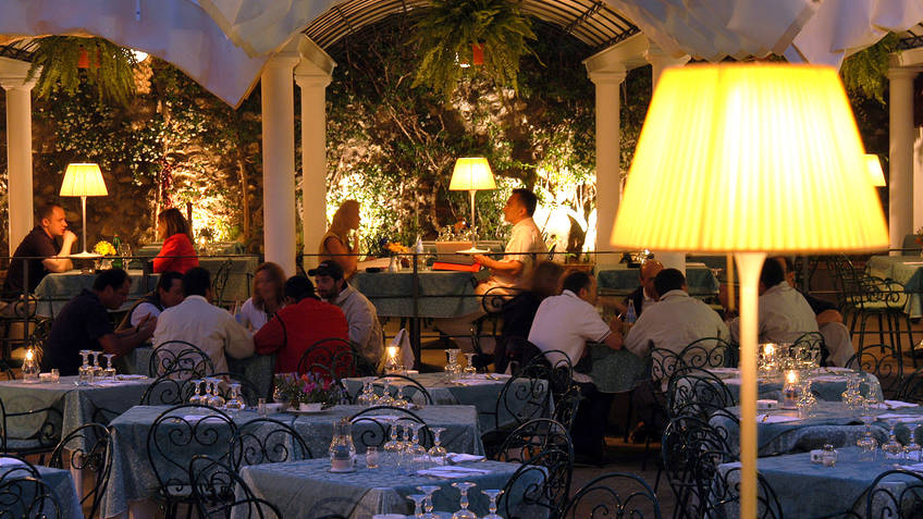 Villa Verde Restaurants Capri
