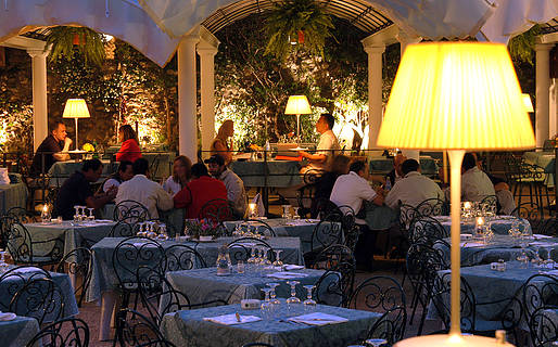 Villa Verde Restaurantes Capri