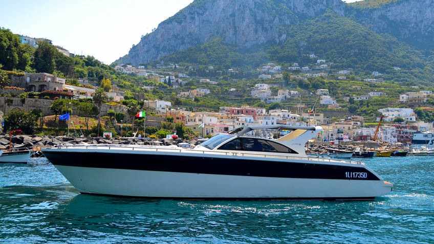 Capri Marine Limousine Excursions by sea Capri