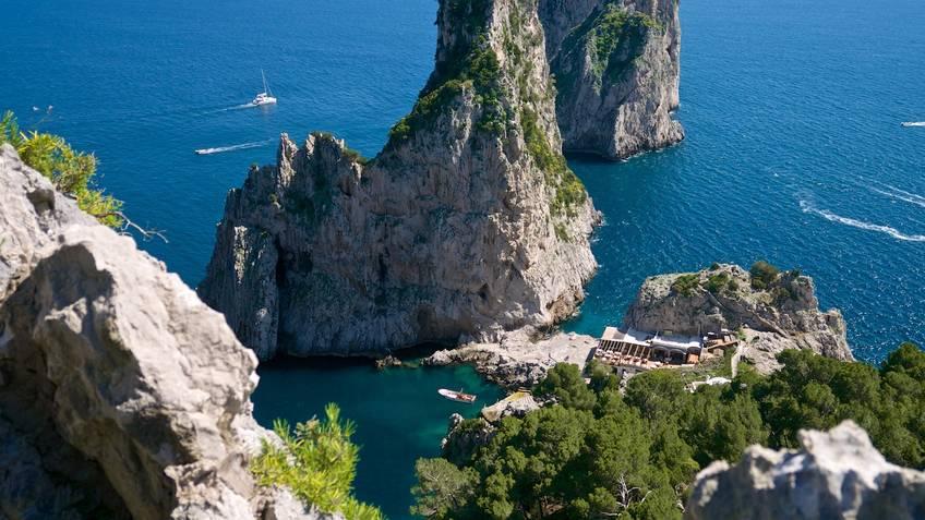 Da Luigi ai Faraglioni Balneários Capri