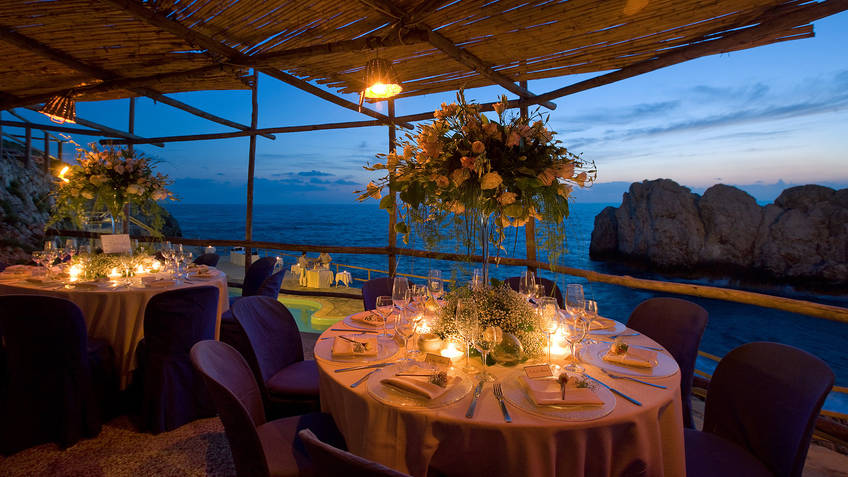 Restaurant Lido Del Faro On Capri