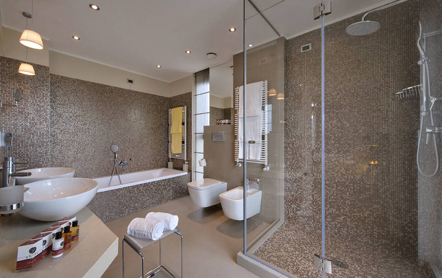 Hotel terme esplanade tergesteo montegrotto terme e 37 for 5 star bathroom designs