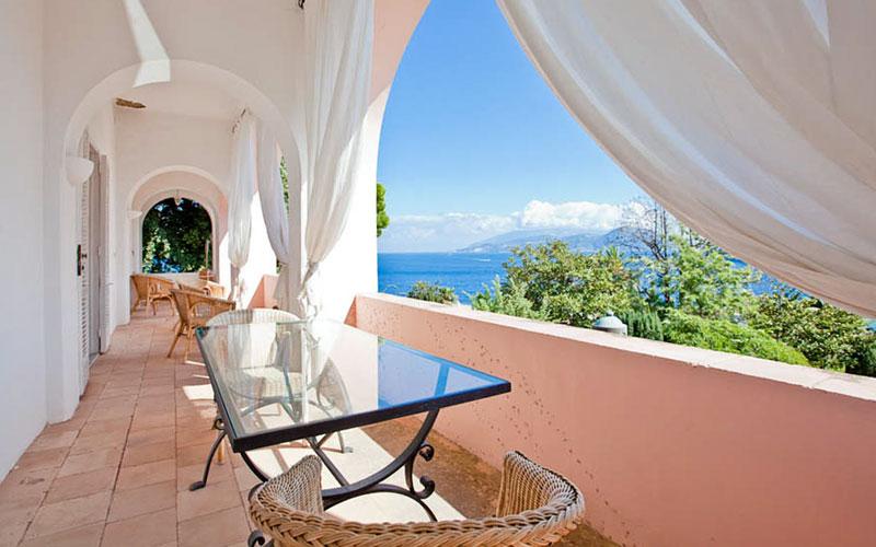 Villa Bismarck Guest House Capri