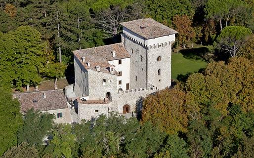 Castello di Magrano Gubbio Hotel