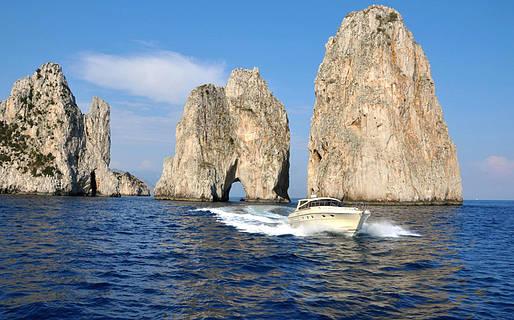 Capri Sea Service Excursions by sea Capri