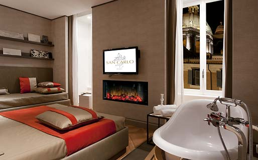 San Carlo Suite Luxury Suites and Penthouses Roma