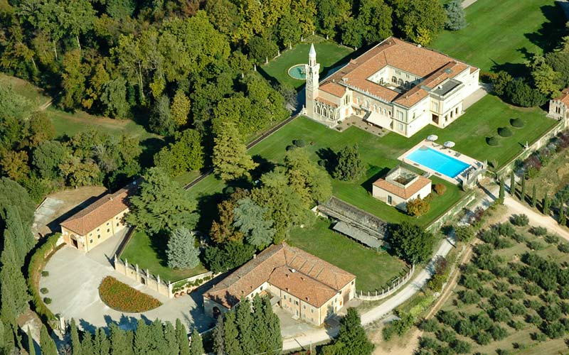 Villa d 39 acquarone san martino buon albergo e 36 hotel for Affitto san martino buon albergo arredato