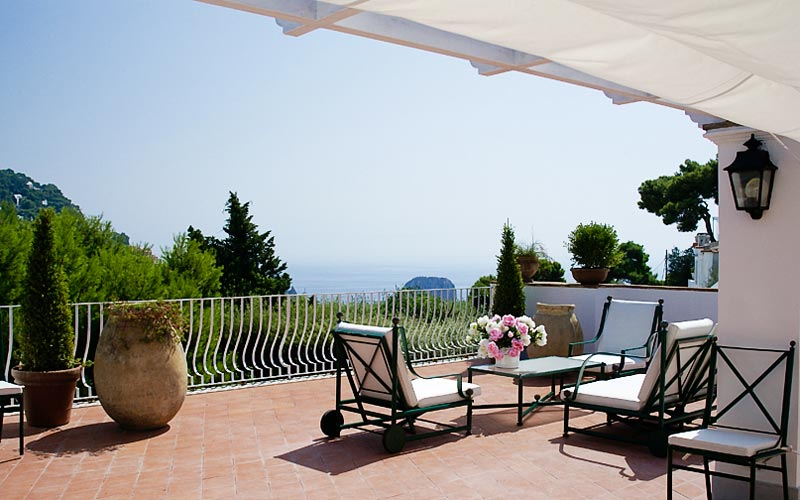 Villa La Conchiglia House rental Capri