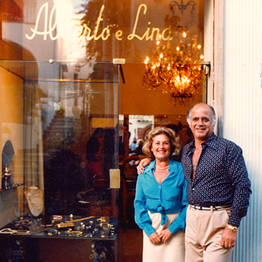 Alberto e Lina Capri