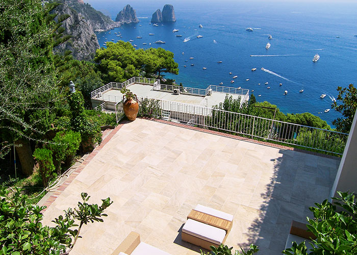 Villa la terrazza villa with view capri italy - Villa la terrazza ...