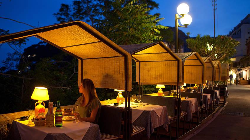 Faraglioni Restaurantes Capri