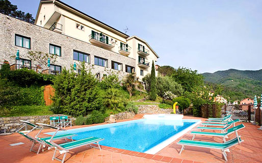 Villa Edera 3 Star Hotels Moneglia