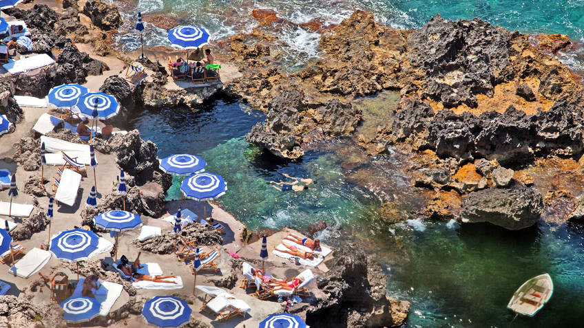 La Fontelina Bathing Establishments Capri