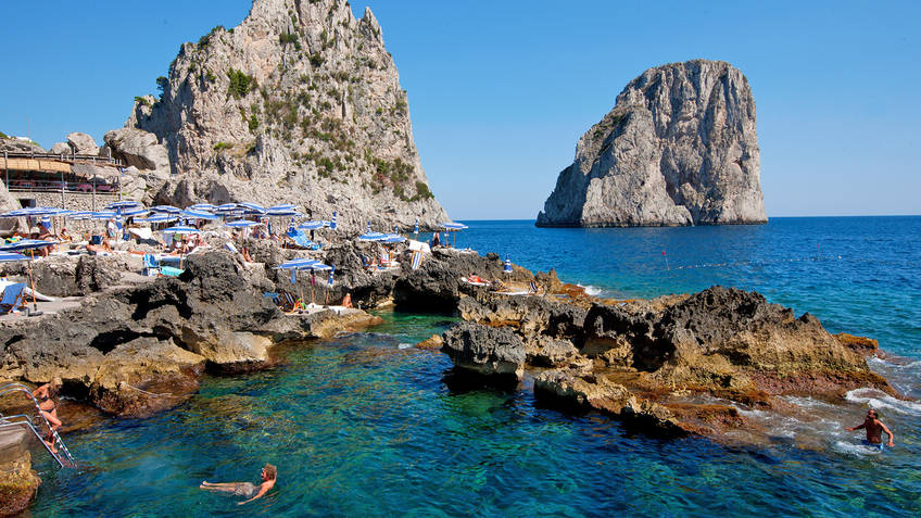 La Fontelina Restaurants Capri