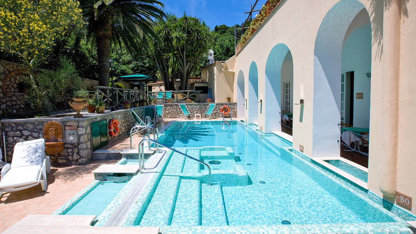 Villa Sarah Hotel 4 estrelas Capri