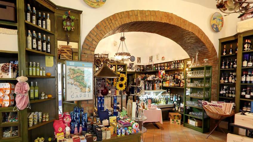 Capannina Pi� gourmet Produtos t�picos Capri