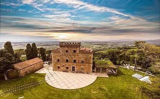 Castello di Segalari Ville di Lusso Castagneto Carducci