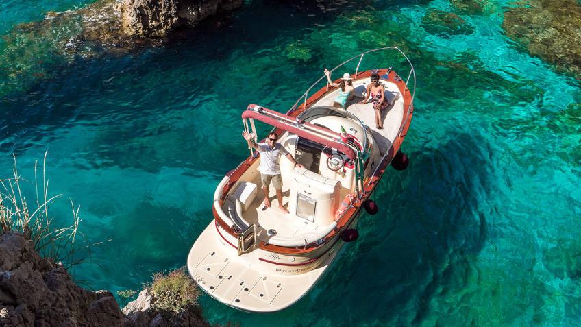 Amazing Capri Tour Excursions by sea Anacapri
