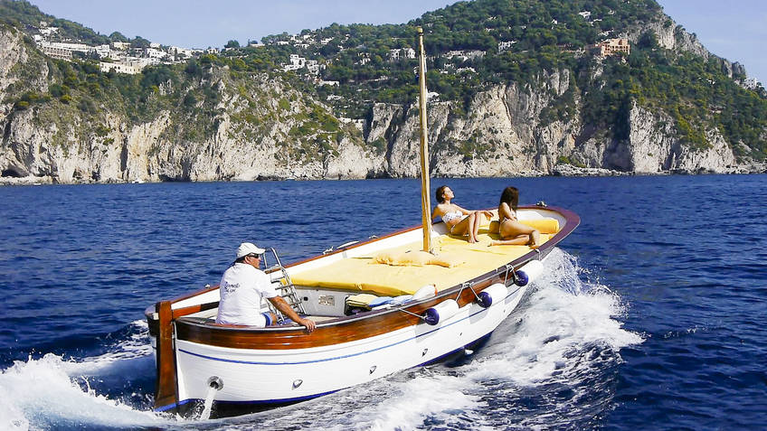 Capri Relax Boats Excursions by sea Capri