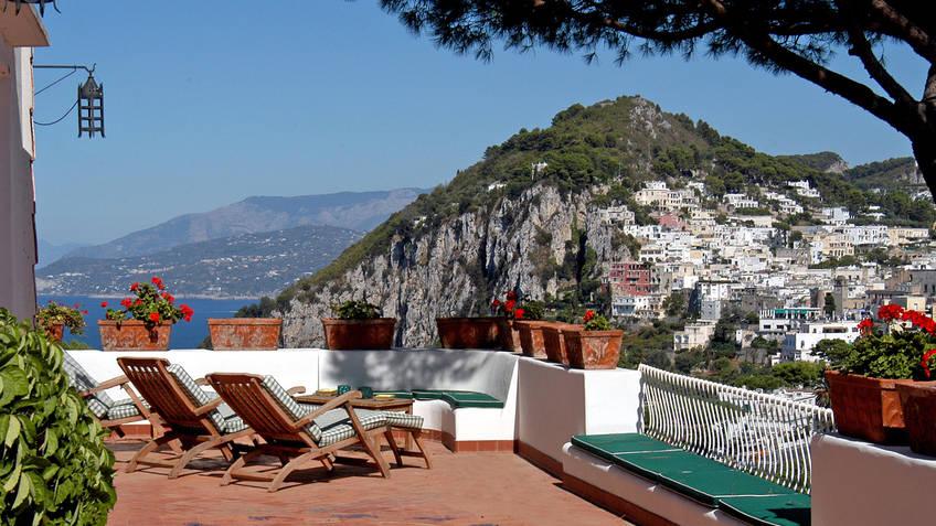 Villa Le Terrazze Casas de Luxo Capri