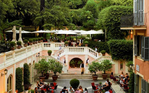 Hotel De Russie 5 Star Hotels Roma
