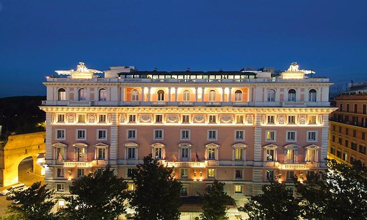 Marriott grand hotel flora roma and 38 handpicked hotels for Grand hotel rome