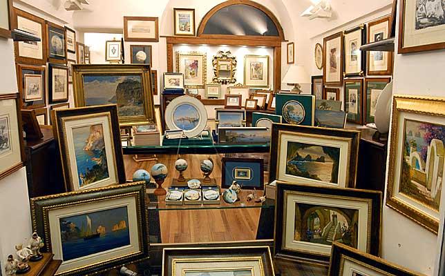 Atlantide Fine Art Gallery Art and Photography Capri
