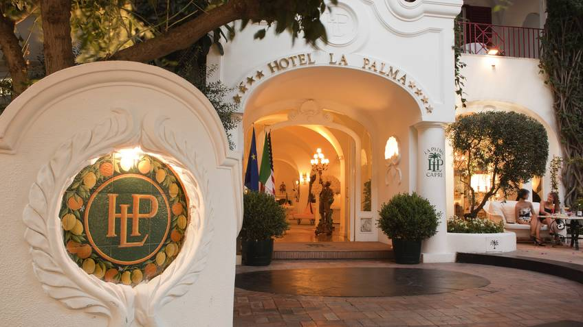 Hotel La Palma Hotel 4 estrelas Capri