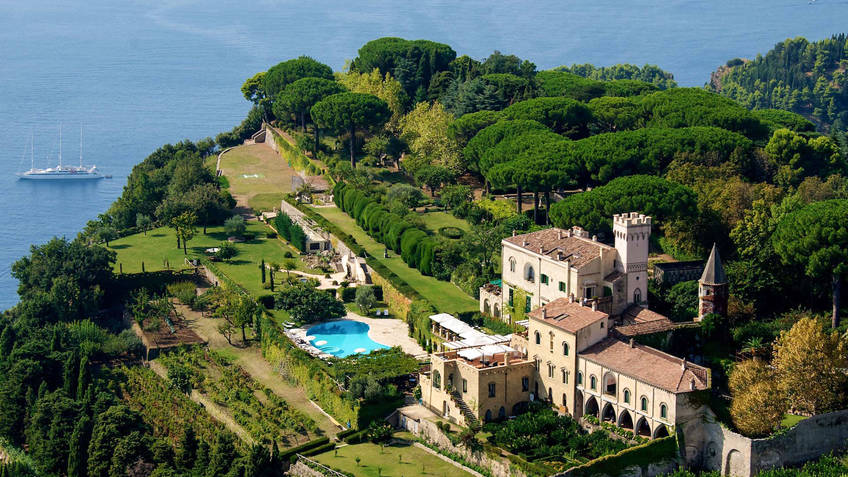 Hotel Villa Cimbrone Hotel 5 estrelas Ravello