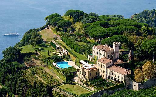 Hotel Villa Cimbrone 5 Star Hotels Ravello