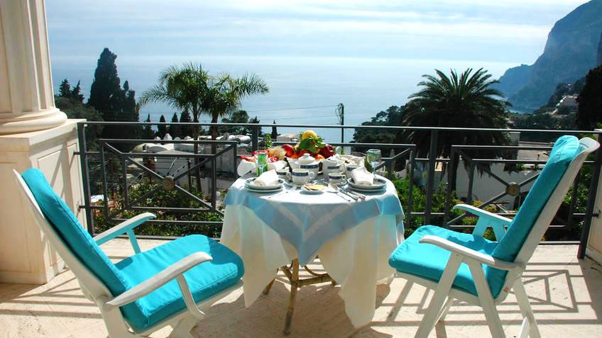 La Certosella Hotel 3 estrelas Capri