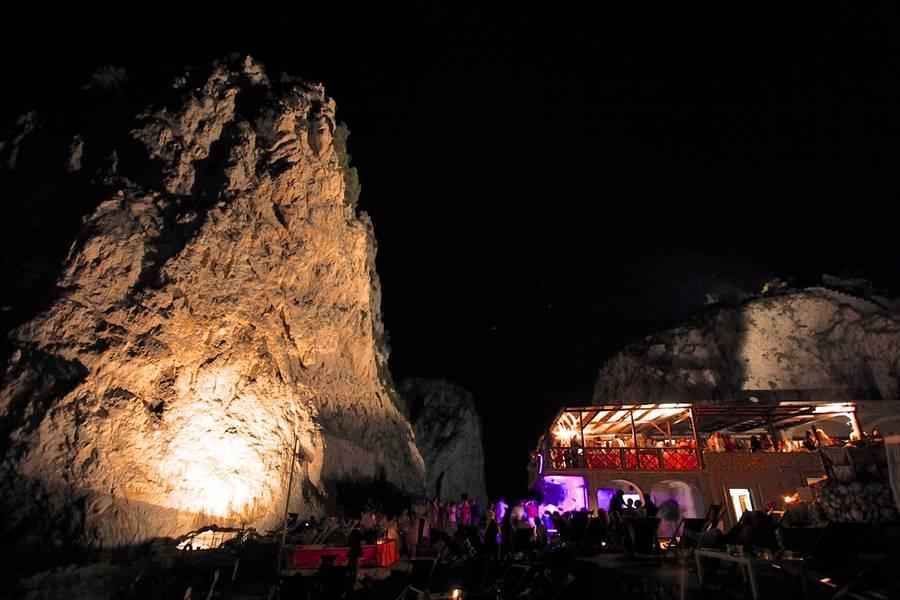 Restaurant Da Luigi Ai Faraglioni On Capri The Lunch Of A