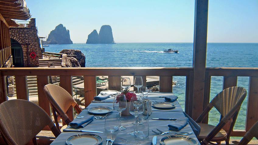 La Canzone del Mare Restaurantes Capri