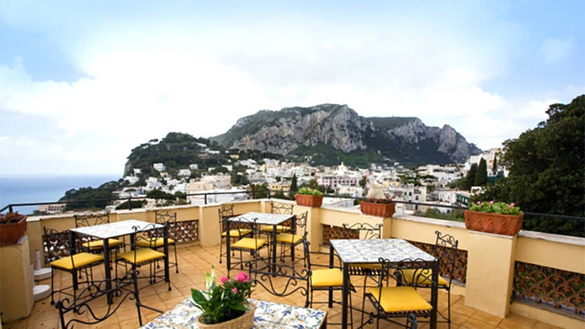 Villa Helios Hotel 3 estrelas Capri