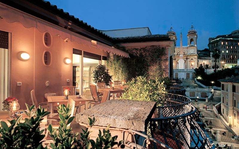 The inn the view at the spanish steps roma and 38 handpicked hotels in the area - Hotel de charme rome ...