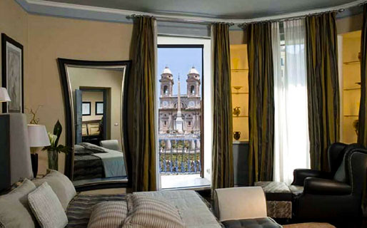 The Inn & the View at the Spanish Steps Luxury Suite e Penthouse Roma