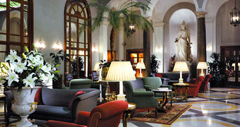 Grand Hotel De La Minerve Roma Piazza di Spagna hotels