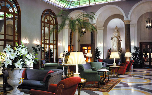Grand Hotel De La Minerve 5 Star Luxury Hotels Roma
