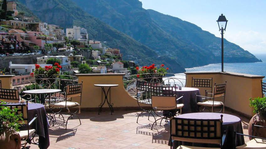 Hotel Posa Posa Hotel 4 estrelas Positano