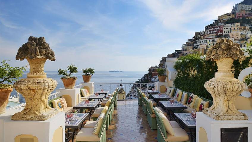 Le Sirenuse Hotel 5 estrelas luxo Positano