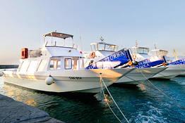 Laser Capri - Marina Grande - Gruta Azul e retorno - via Levante